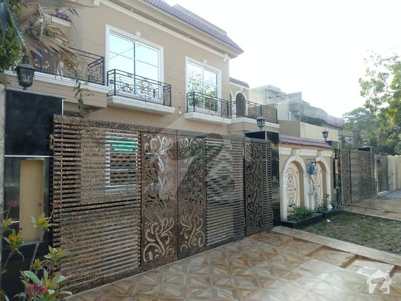 10 Marla Brand New Beautiful Spanish Bungalow at Hot Location near Wapda Town Round About