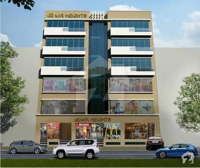 Flat For Sale Facing Canal Mir Heights Sector D Block  AA  Bahria Town Lahore
