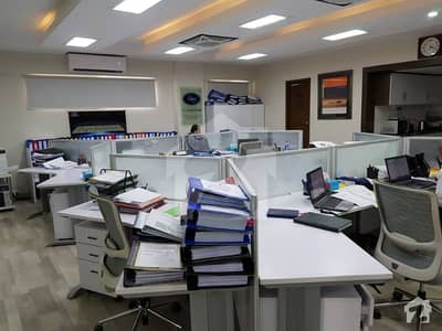 Most Exclusive Fully Furnished 2200 Sqft Office Space Available For Rent At Most Prestigious Location