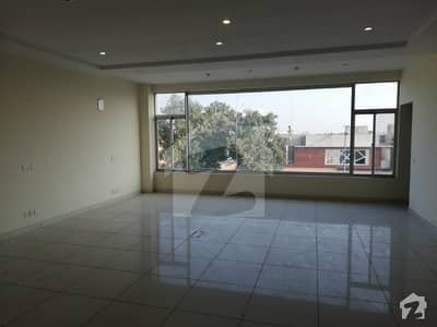 4 Marla Brand New Plaza 1st Floor For Rent In DHA Phase 6 Main Boulevard