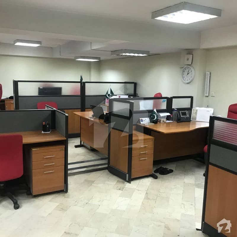 Clifton - Fully Furnished 5200 Sq/ft Office Space On Rent