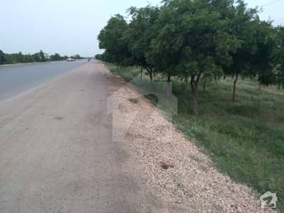 27 Acre From 2 Commercial Land Under Boundary Wall On National Highway Karachi