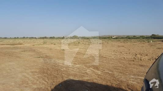 21 Acres Survey Land For Sale In Near To Mean Goth With Saeedabad City