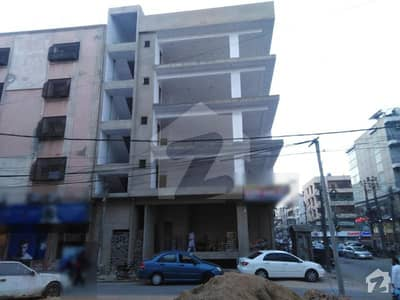 An Ideal Ground With Basement Floor Building Is Available For Sale