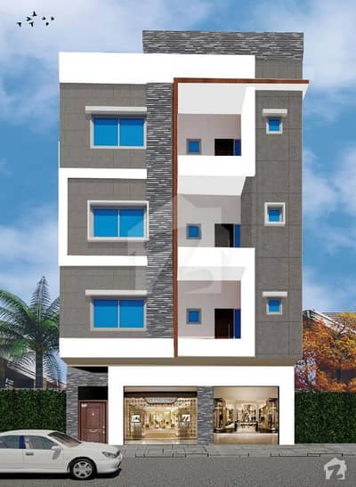 North View Residency Brand New Flat For Sale On Booking