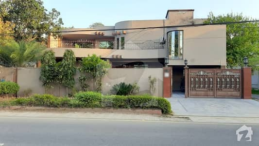 1 Kanal Double Unit Corner House For Sale In D Block Of Model Town Lahore