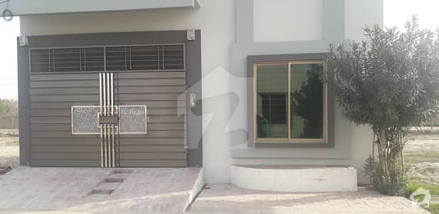 Double Storey House Available For Sale In New Sahiwal City On Sahiwal - Faisalabad Road