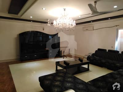 1 Kanal Luxury Fully Furnished House With Basement For Rent Facing Park Location In Dha Phase 6 Block K In Lahore