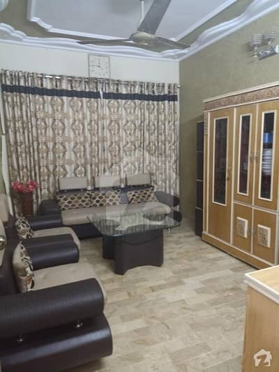 flat for sale good whil pagri at azizabaad block 2