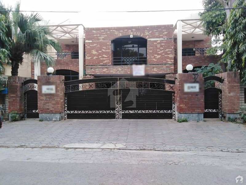 2 Kanal Double Unit House Is Available For Sale