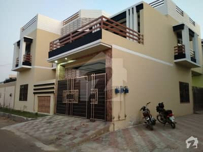New Corner  Double Storey  House   Available At Good Location