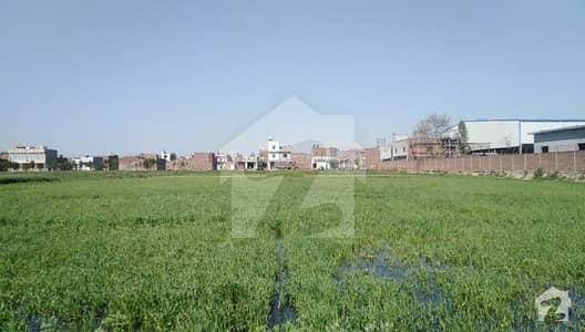 فیروزپور روڈ لاہور میں 10 کنال رہائشی پلاٹ 6.5 کروڑ میں برائے فروخت۔