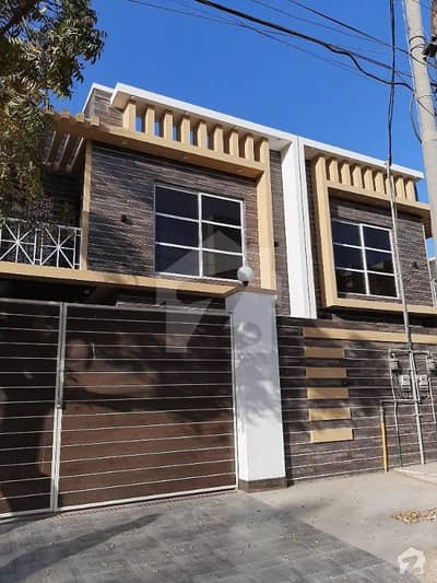 Brand New 300 Sq Yards House For Sale With Parking And Two Entrances