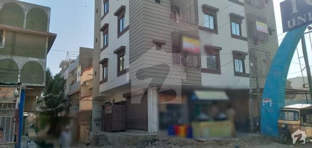 نارتھ کراچی - سیکٹر 7-D3 نارتھ کراچی کراچی میں 2 کمروں کا 4 مرلہ فلیٹ 55 لاکھ میں برائے فروخت۔