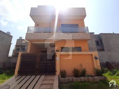 Triple Storey Five Marla Brand New Lavish House Available For Sale In Formanites Housing Scheme