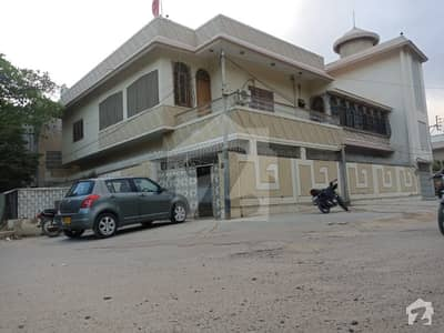 Corner 500 Sq Yards Double Storey Bungalow For Sale In North Nazimabad Block H