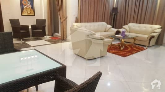 Fully Furnished 1 Kanal Basement Portion For Rent In Dha Phase 5