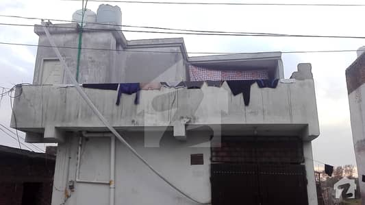Double Storey House For Sale In Kehkashan Colony Adiala Road