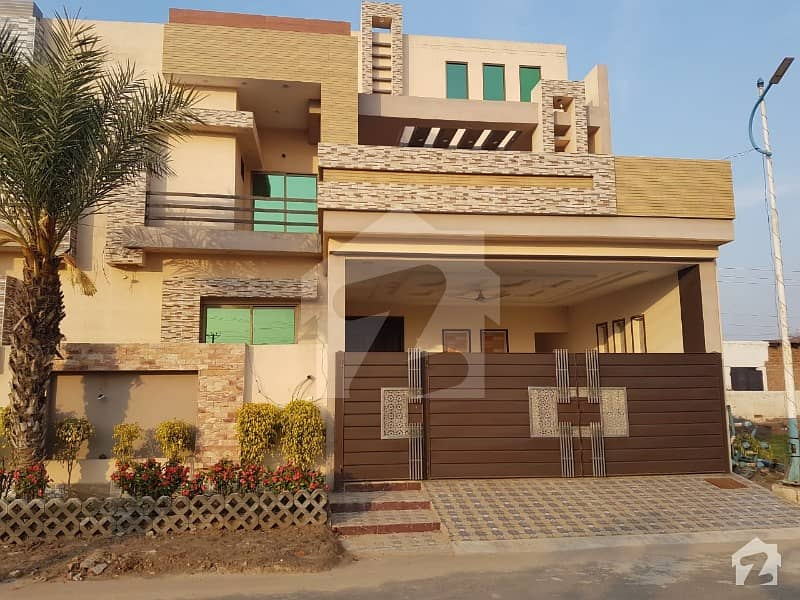 10.6 Marla Beautifully Designed Modern House For Sale In Bilal City
