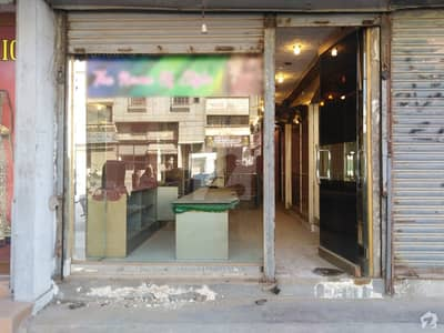 Shop With 2 Basements Is Available For Sale In Shoaib Center