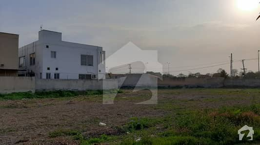 1 Kanal Ideally Located Plot For Sale In Block F Phase 8 Dha Lahore