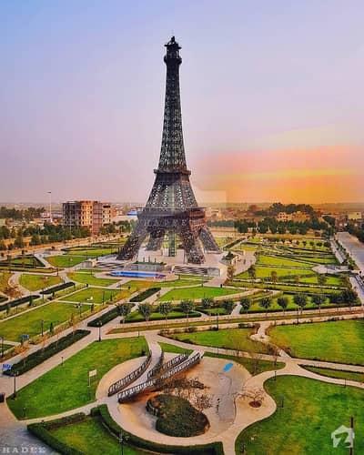 علاوہ بحریہ ٹاؤن لاہور میں 5 مرلہ رہائشی پلاٹ 16 لاکھ میں برائے فروخت۔