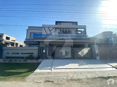 One Kanal Brand New Corner Double Unit House For Sale
