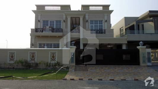 1 Kanal Brand New House For Sale In K Block Of Dha Phase 6 Lahore  With Basement