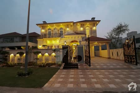 1 Kanal Brand New Spanish Faisal Rasool Designed Double Storey Brand New Bungalow At Prime Location Of DHA Phase 5 Block K Lahore