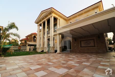 Spanish Style 2 Kanal Brand New Bungalow With Fully Basement Cinema Hall N Swimming Pool