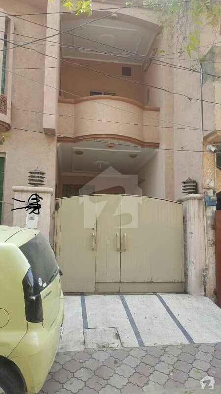 5 Marla Double Storey House 3 Bed Tv Lounge Dd For Sale In Johar Town Lahore