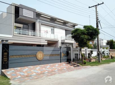 2 Kanal Most Beautiful Ultra Modern Designer House Semi Furnished Solid Construction