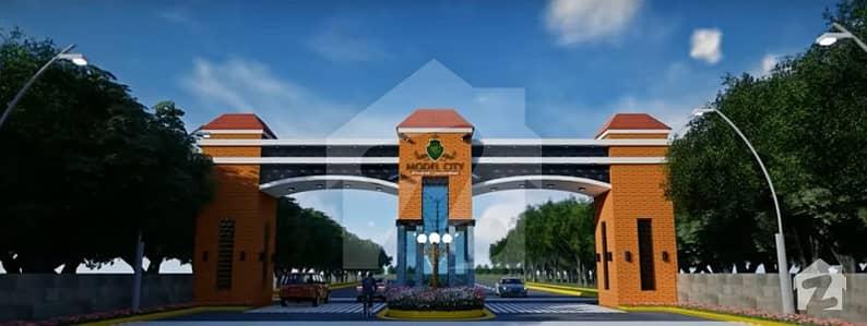 ماڈل سٹی میانوالی روڈ خوشاب میں 5 مرلہ رہائشی پلاٹ 22 لاکھ میں برائے فروخت۔