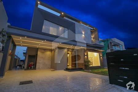 1 Kanal Brand New Double Unit Double Storey Mazhar M Solid Construction Bungalow for Sale Phase 6 DHA Defence Lahore