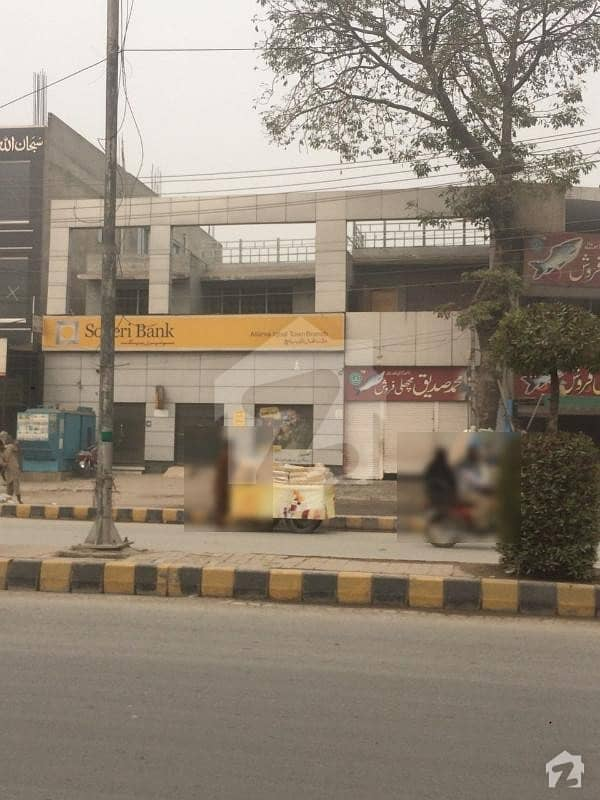 13 Marla Well Constructed Commercial Building At Ideal Location Is Available For Sale In Allama Iqbal Town