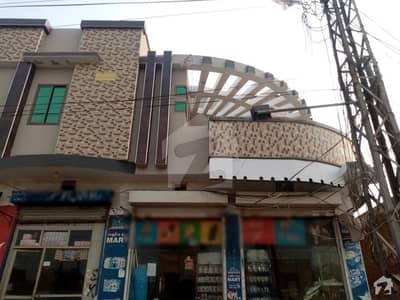 Double Storey Beautiful Corner Commercial Building Flat Available For Rent At Gt Road Okara
