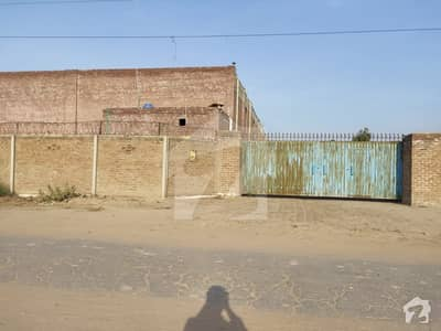 Such A Nice Located Warehouse Is Available For Sale In Industrial Estate Multan