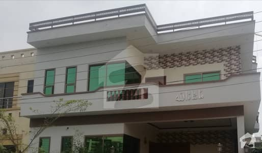 A Nicely Build 7 Marla Corner Plus Park Facing Double Storey Luxury House Is Available For Rent