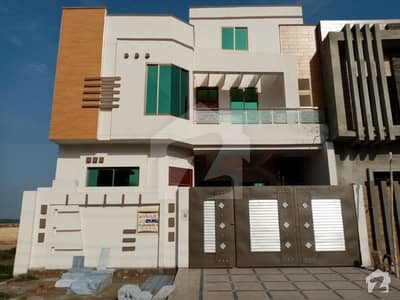 A Nicely Build Brand New 7.5 Marla Double Storey House Is Available For Sale In Al Raheem City Okara