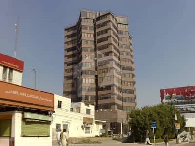 800 sqft office for sale in well maintained building of shahraefaisal