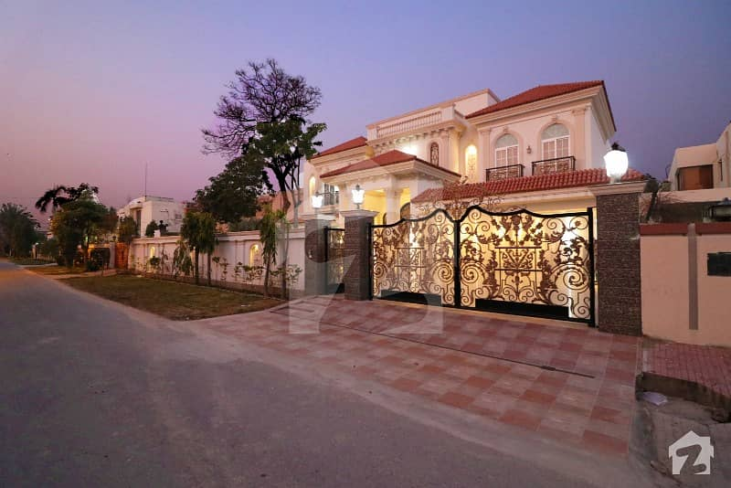 2 Kanal Brand New Semi Furnished With Home Theater Faisal Rasool Design Bungalow For Sale Phase 2 DHA Defence Lahore