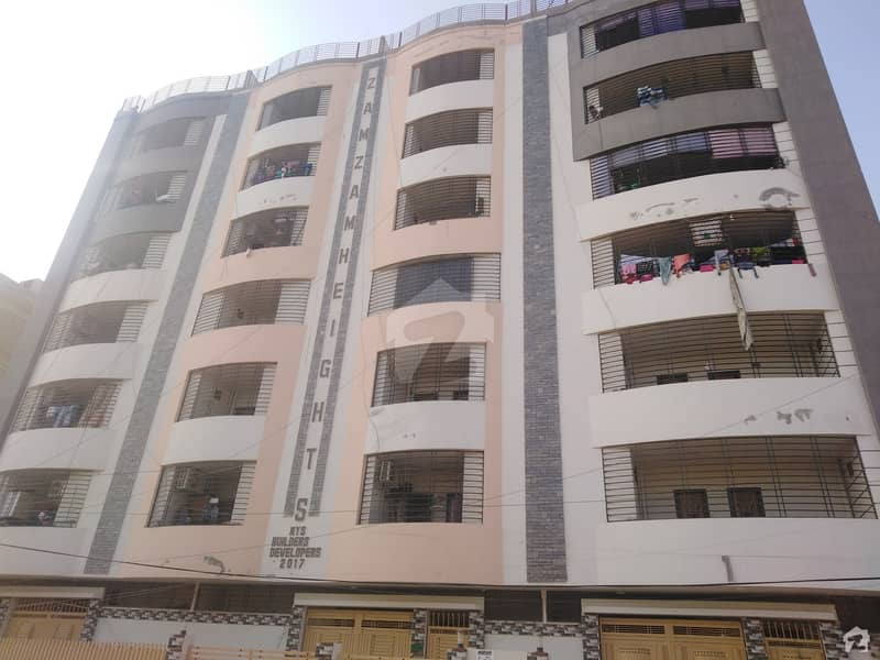 1130 Square Feet 4th Floor Flat For Sale In Zam Zam Heights Unit No 6 Latifabad Hyderabad