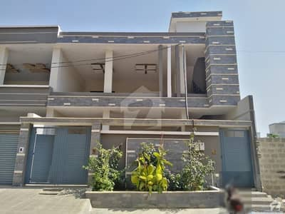 Brand New 6 Bedroom Double Storey 2 Unit 300 Square Yard Bungalow Is Available For Sale At Gulistanejohar Block 14
