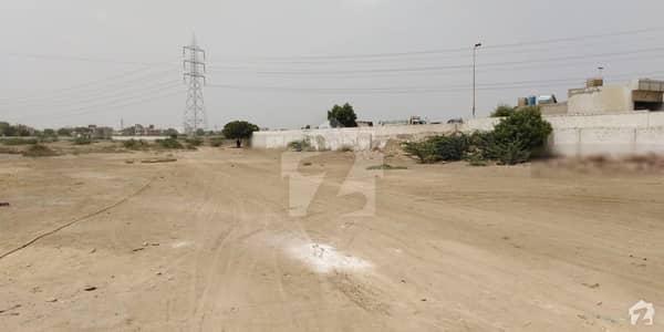 سُپر ہائی وے کراچی میں 77.44 کنال کمرشل پلاٹ 80 کروڑ میں برائے فروخت۔