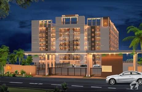 حمزه ریزیڈنیشا ملتان روڈ لاہور میں 1 کمرے کا 2 مرلہ فلیٹ 41.44 لاکھ میں برائے فروخت۔
