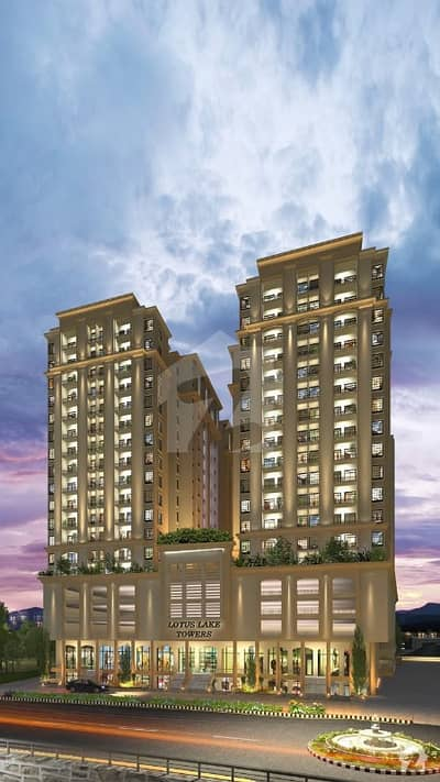 Ground Floor Front Shop For Sale In Lotus Lake Tower