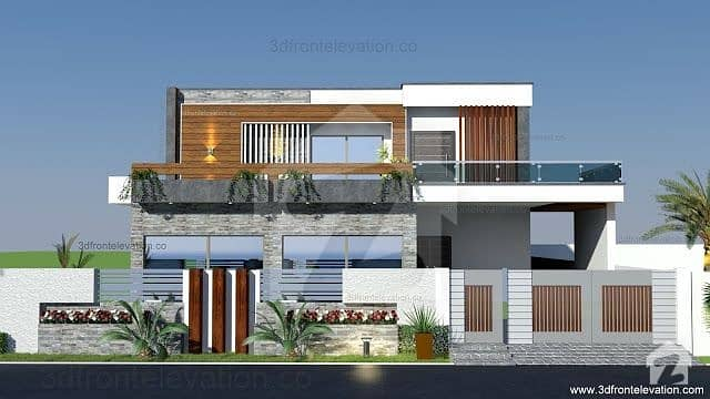 1 Kanal Double Unit House For Sale In Bahria Town Phase 8 Sector A 5 Bedrooms