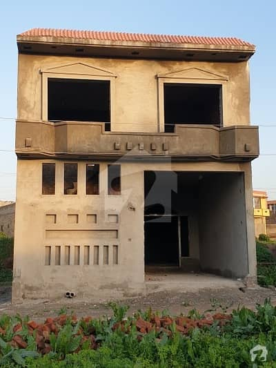 5 Marla 1.5 Storey Gray Structure House For Sale
