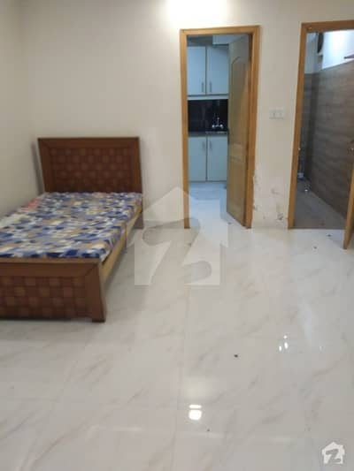 sprat 1 bedroom Furnished Ground portion for rent neat and clean