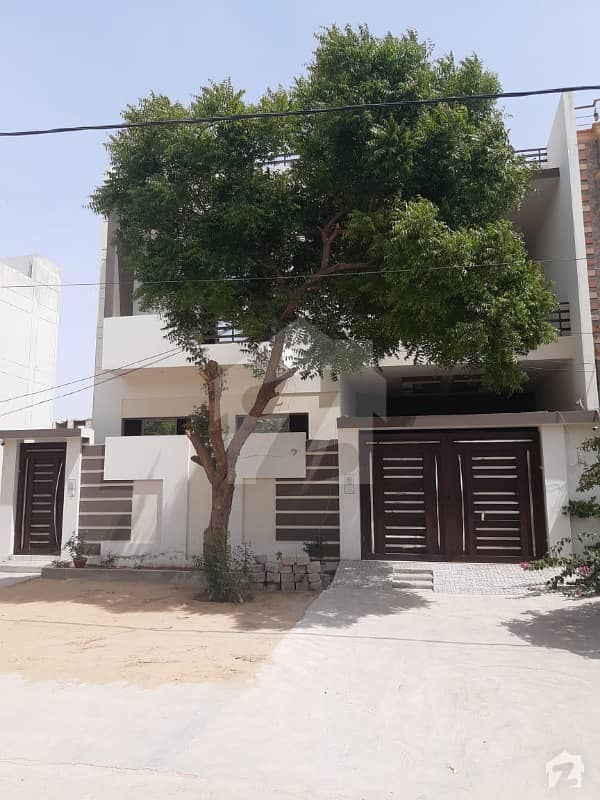 240 Sq Yd Brand New Ground  1 House For Sale